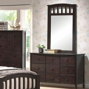 Compare Luella 6 Drawer Double Dresser with Mirror by Winston Porter Reviews (2019) & Buyer's Guide