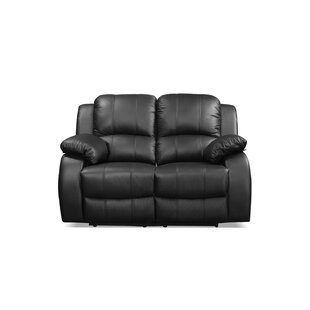 Neve Genuine Leather 2 Seater Reclining Loveseat By Ebern Designs