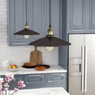 Laurel Foundry Modern Farmhouse Bouvet 1-Light Cone Pendant