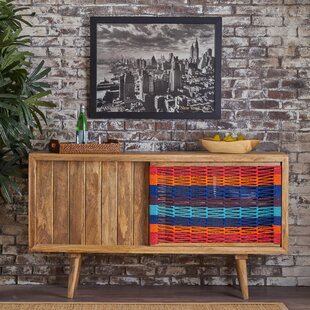 Tecumseh Wood Buffet Table by Bloomsbury Market