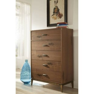 Read Reviews Lizabeth 5 Drawer Chest by Corrigan Studio