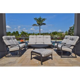 Outdoor Masterpiece Terrabay Sofa with Cushions