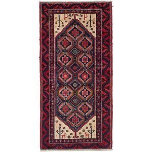 Bilbo Hand-Knotted Brown Area Rug