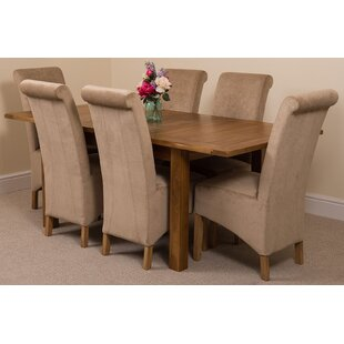 Oak Dining Table And 6 Chairs Wayfaircouk