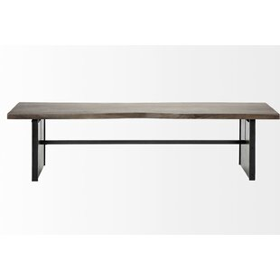 Grovetown Wood Bench by Foundry Select