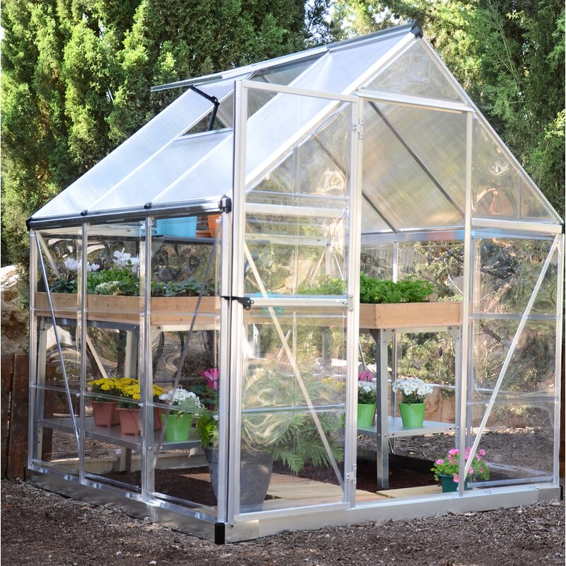 Hybrid 6 Ft W x 6 Ft D Greenhouse