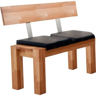 Nova Solid Wood Bench By Gracie Oaks