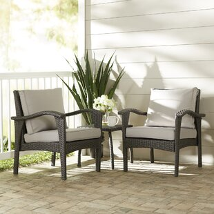 Beacon 3 Piece Conversation Set with Cushions