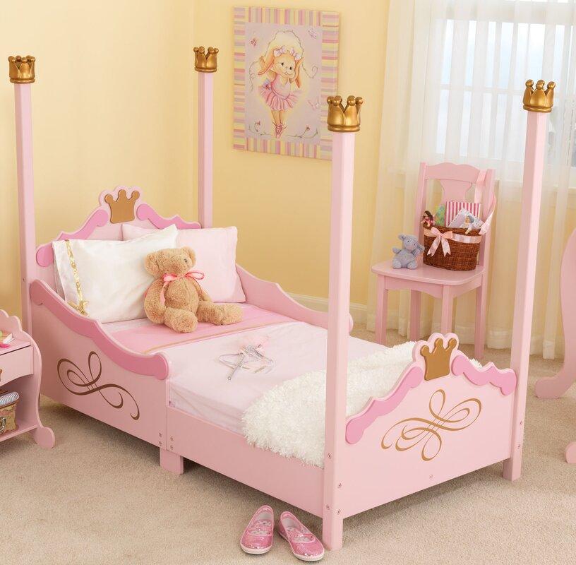 princess toddler four poster bed - Princess Bed