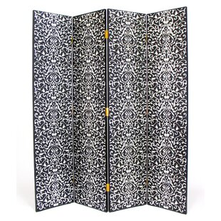 Bloomsbury Market Aiello 4 Panel Room Divider
