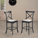Businge Upholstered 24 Counter Stool (Set of 2) by Gracie Oaks