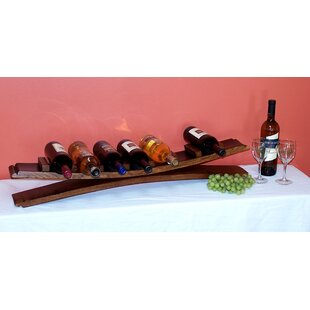 7 Bottle Tabletop Wine Bottle Rack by 2 D..