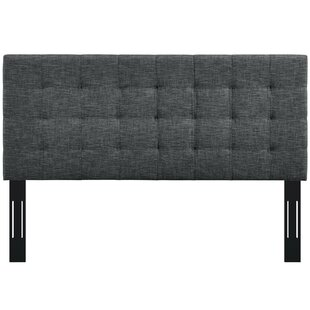 Reichert Upholstered Panel Headboard by Canora Grey