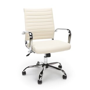 Orren Ellis Tyneside Ribbed Executive Chair