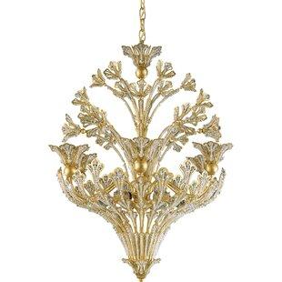 Schonbek Rivendell 12-Light Crystal Chandelier