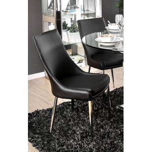 Niantic Modern Upholstered Dining Chair (Set of 2) Orren Ellis