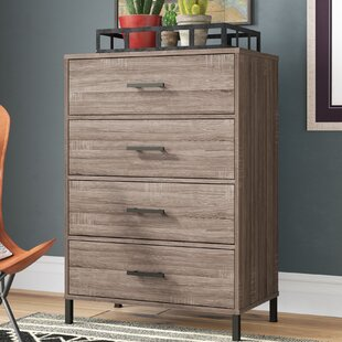 Check Prices Politte 4 Drawer Chest by Union Rustic