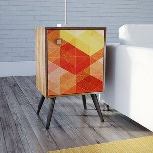 Althea End Table by Ebern Desi..