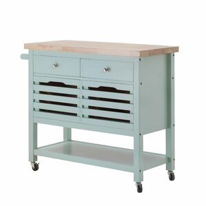 Grenora Kitchen Cart by August Grove Reviews