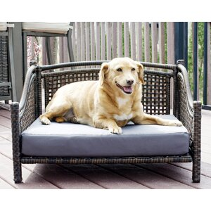 Fay Maharaja Rattan Dog Sofa