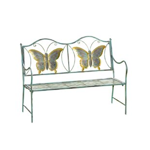 Junior Metal Butterfly Bench
