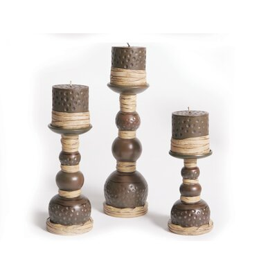Acadian Candle Candlestick Set