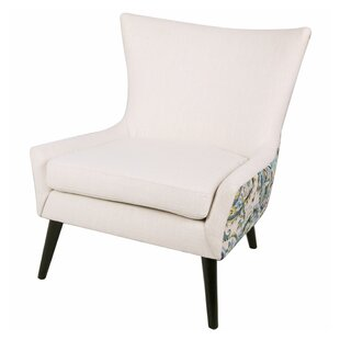 Framboise Paisley Lounge Chair by Ivy Bronx