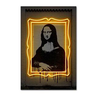 ec44e14b712  Mona Lisa  Graphic Art Print on Wrapped Canvas