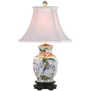Oriental Furniture Porcelain Tulip Vase 24