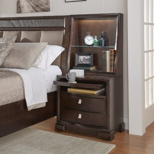 Coupon Noriega 2 Drawers Nightstand by Alcott Hill