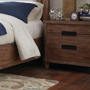 Magdaleno 2 Drawer Nightstand