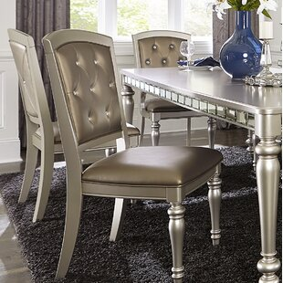 Lusher Upholstered Dining Chair (Set of 2) by Rosdorf Park