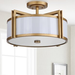 Dublin 3 Light Semi-Flush Mount by Latitude Run