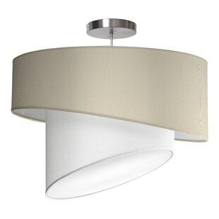 Seascape Lamps Twist 1-Light Pendant