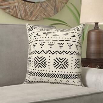 World Menagerie Shipham Arrows Wool Geometric Throw Pillow Cover Wayfair