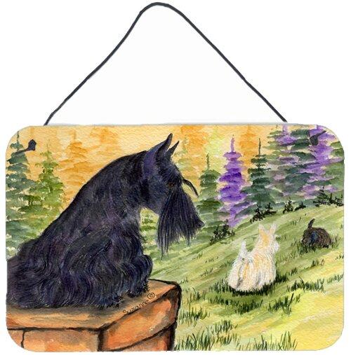 Scottish Terrier Indoor Painting Print