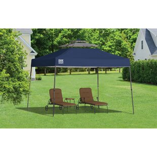 Summit 11 Ft. W x 11 Ft. D Steel Pop-Up Canopy by QuikShade