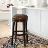 Vandoren Bar & Counter Swivel Stool by Darby Home Co