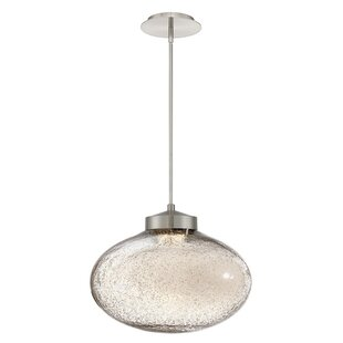 Brazen 1-Light LED Globe Pendant by Modern Forms
