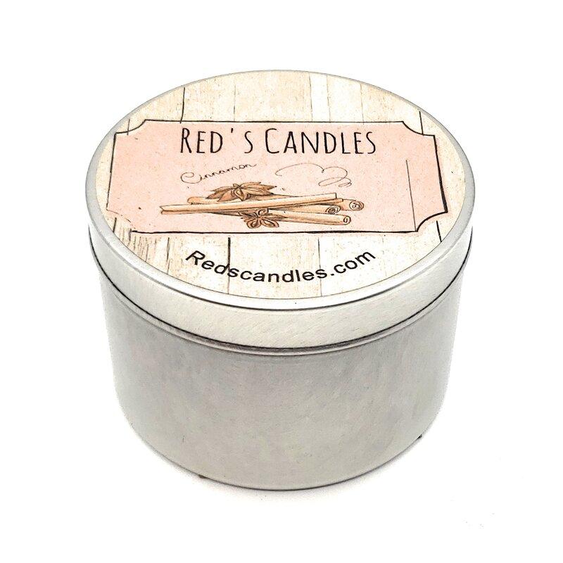 Red S Candles Cinnamon Cinnamon Scented Jar Candle Wayfair