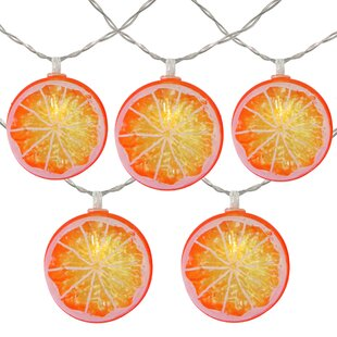 Slice Summer 54 ft. 10-Light Novelty String Light by The Party Aisle