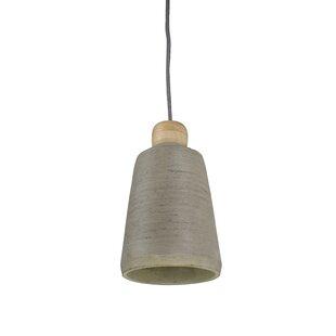 II 1-Light Bell Pendant by..