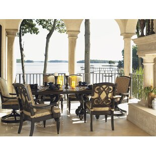 Kingstown Sedona Metal Dining Table by Tommy Bahama Outdoor