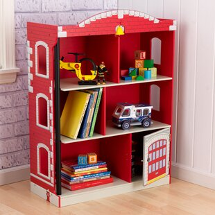 Deals Firefighter Firehouse 38 Bookcase by KidKraft Reviews (2019) & Buyer's Guide