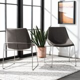 Saddle Side Chair (Set of 2) by Corrigan Studio®