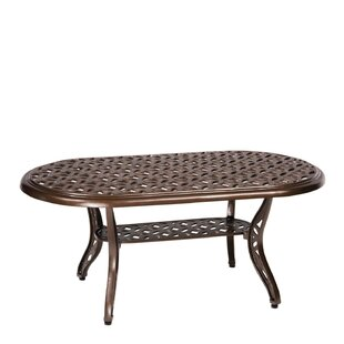 Woodard Casa Aluminum Coffee Table