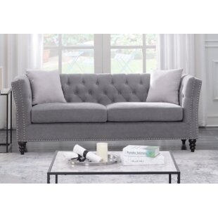 Price Check Works Living Room Chesterfield Sofa by House of Hampton Reviews (2019) & Buyer's Guide