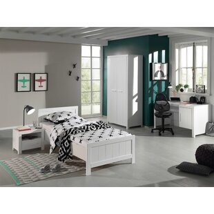 Eddy 4 Piece European Single Bedroom Set By Isabelle & Max