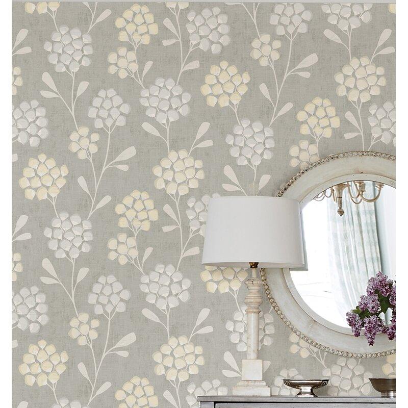 sarah richardson design scandi flora 33 l x 20 5 w wallpaper roll wayfair scandi flora 33 l x 20 5 w wallpaper roll