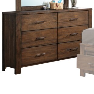 Schlesinger 6 Drawer Double Dresser